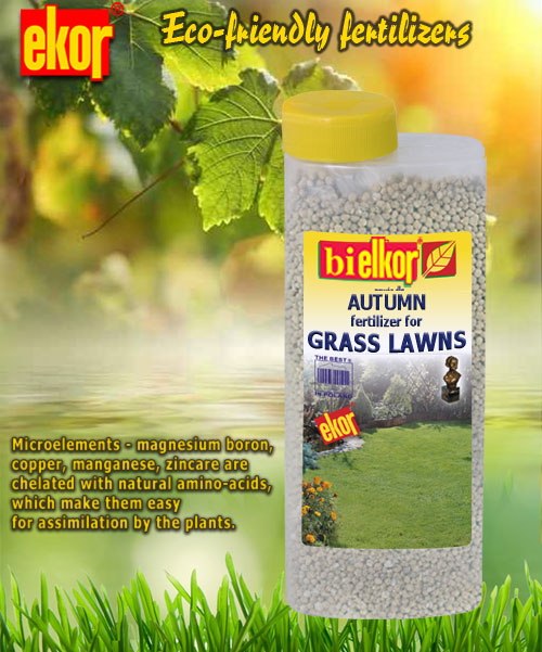 autumn lawn fertilizer